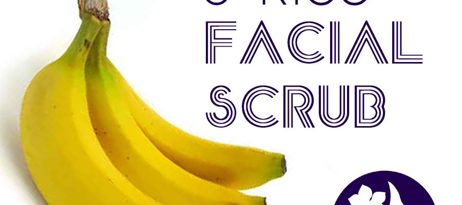 DIY Banana & Rice Facial Scrub - DIY Beauty