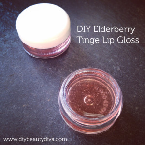 DIY Elderberry Tinge Lip Gloss Recipe