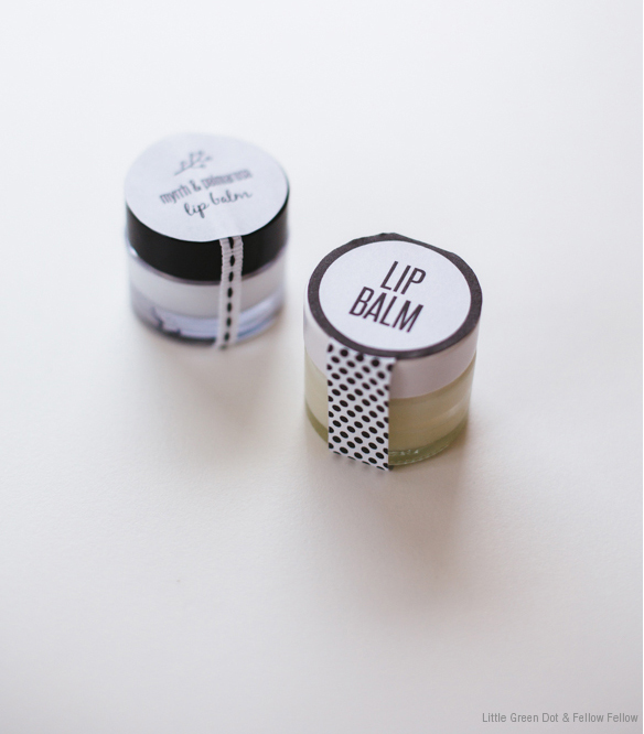 DIY Myrrh & Palmarosa Lip Balm Recipe