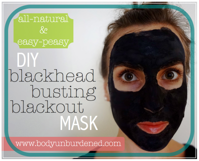 DIY Blackhead Busting Blackout Face Mask