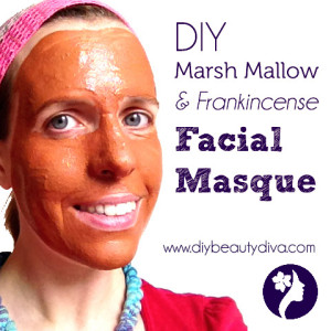 DIY Marsh Mallow & Frankincense Facial Masque Recipe