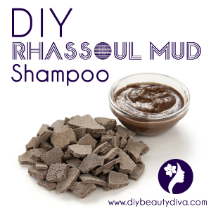 DIY Rhassoul Mud Shampoo