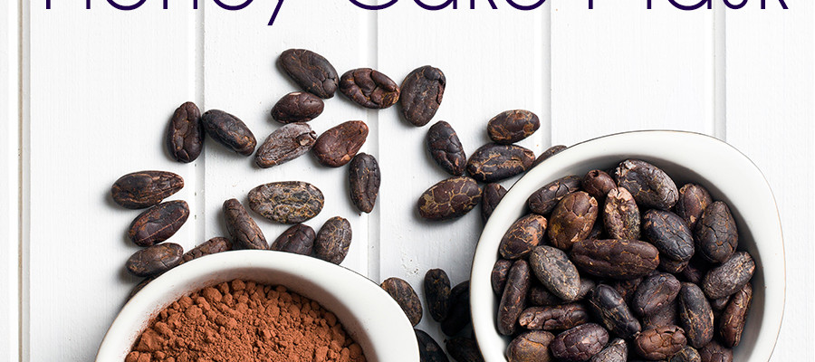 DIY Chocolate Honey Cake Mask - DIY Beauty