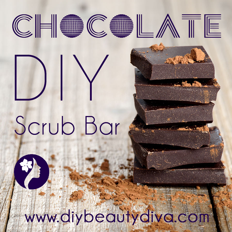 DIY Chocolate Scrub Bar
