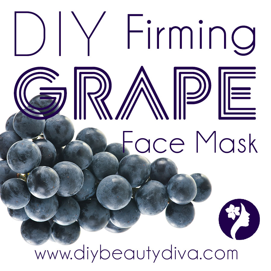 DIY Firming Grape Face Mask